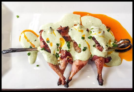 Quail Poppers Yum Picture Of Boiler House Texas Grill And Wine Garden San Antonio