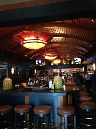 Bar area of redstone for Redstone grill