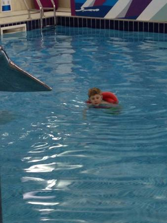 Swimming Lesson At Haven Seaview Fab Pool Staff Thank You Picture Of Seaview Holiday Park