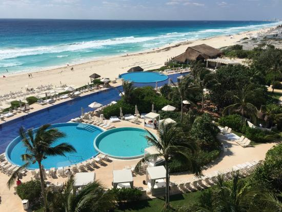 This is the view from our balcony picture of live aqua cancun all inclusive cancun tripadvisor for How many rooms at live aqua cancun