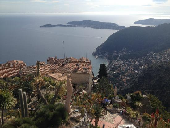 Views picture of le jardin exotique d 39 eze eze tripadvisor for Eze jardin exotique statues
