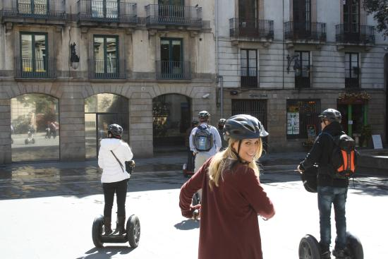Mrs T - Picture of Barcelona Segway Glides, Barcelona ...