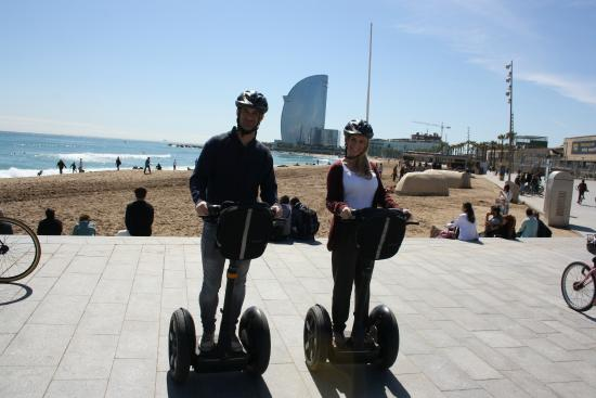 Strike a pose - Picture of Barcelona Segway Glides ...