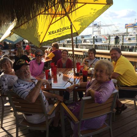 Grills seafood deck tiki bar picture of grills seafood deck tiki bar cape canaveral - Grills seafood deck tiki bar ...