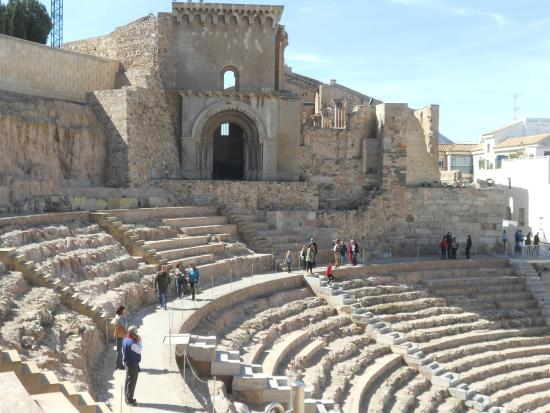 Audience view - Picture of Roman Theatre Museum, Cartagena ...