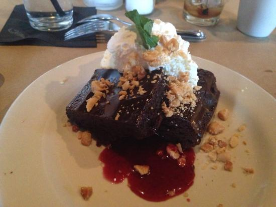 macadamia nut brownie picture of bonefish grill iselin tripadvisor. Black Bedroom Furniture Sets. Home Design Ideas