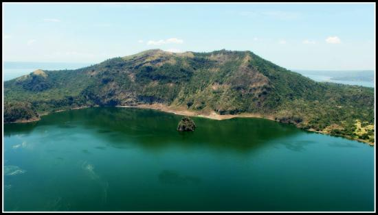 Crater Lake Resort Taal Taal Volcano Crater Lake