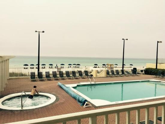 the view from my room picture of flamingo motel panama. Black Bedroom Furniture Sets. Home Design Ideas