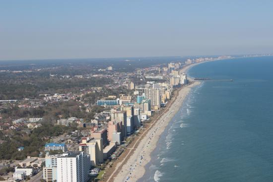 A View Of Myrtle Beach  Picture Of OceanFront Helicopters Myrtle Beach  Tr