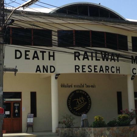 Museum Exterior- you cannot take photos inside - The Thailand-Burma Railway C...
