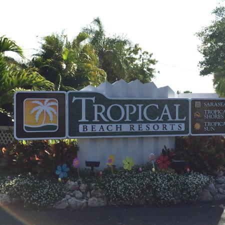 Welcome Sign Picture Of Tropical Beach Resorts Siesta