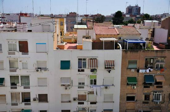View from room picture of silken puerta valencia - Silken puerta de valencia ...