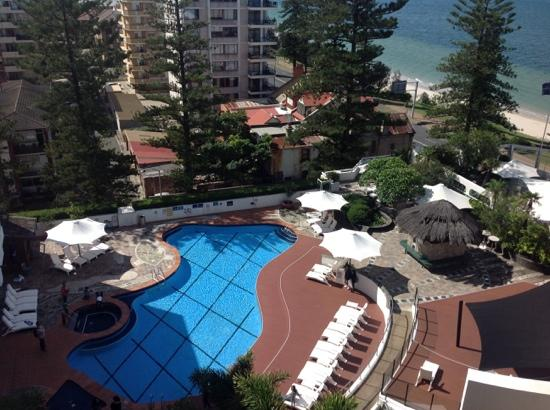 Outdoor Pool Spa Picture Of Novotel Sydney Brighton Beach Brighton Le Sands Tripadvisor
