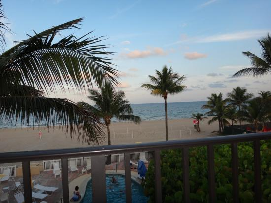 Southern Seas Resort and Hotel: View from room