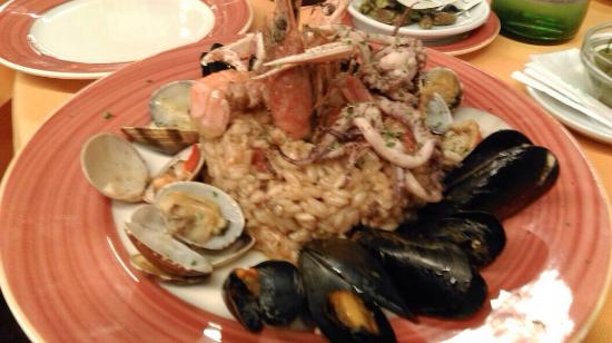 Seafood risotto picture of fauno bar sorrento tripadvisor for Seafood bar zurich