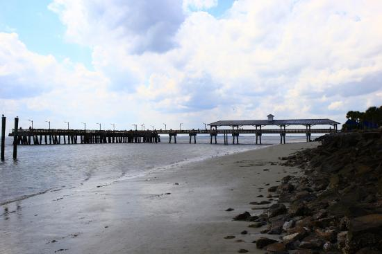 St simons island pier picture of fishing pier saint for St simons island fishing