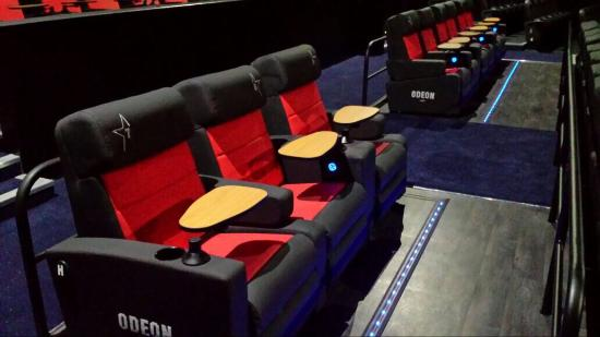 Fab New Recliner Seating Picture Of Odeon Cinema