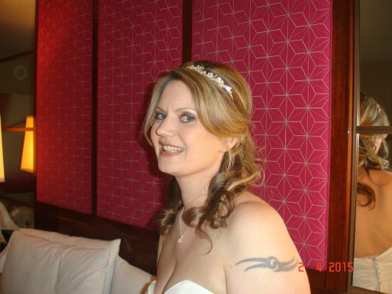 My wedding day hair big and beautiful picture of for Cristophe salon prices