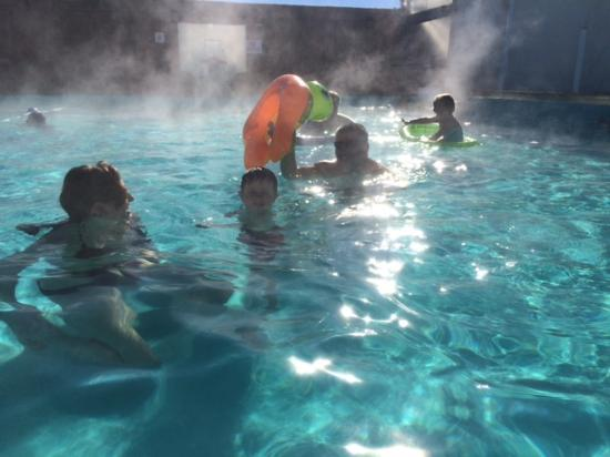 View From The Pool Picture Of Sand Dunes Recreation Hot Springs Pool Alamosa Tripadvisor