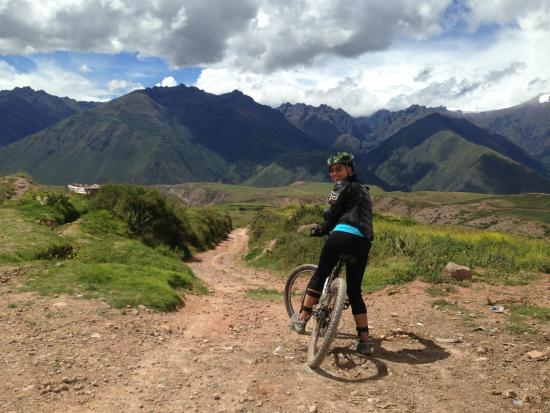 Mountain Biking to Moray - Picture of Advice Peru EIRL ...