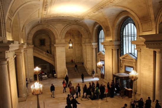 Public library picture of new york public library new york city