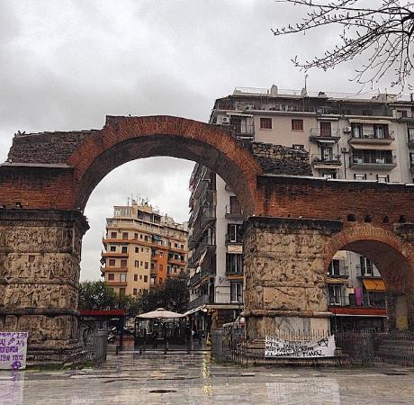 The Arch of Galerius - Picture of The Arch of Galerius ...