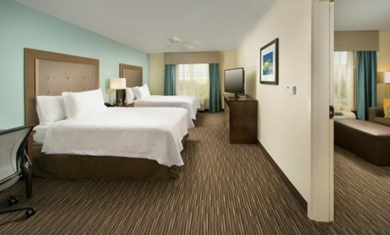 Suites By Hilton Lackland AFB SeaWorld TX Two Queen Bedroom Suite