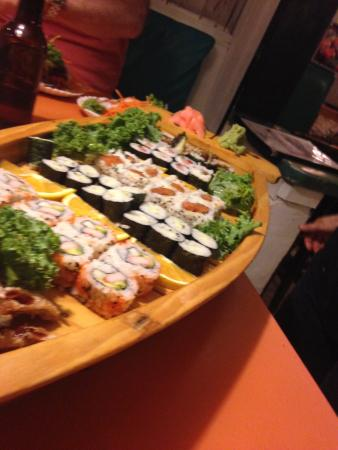 Loved the sushi presentation picture of sushi nami for Asian cuisine ppt