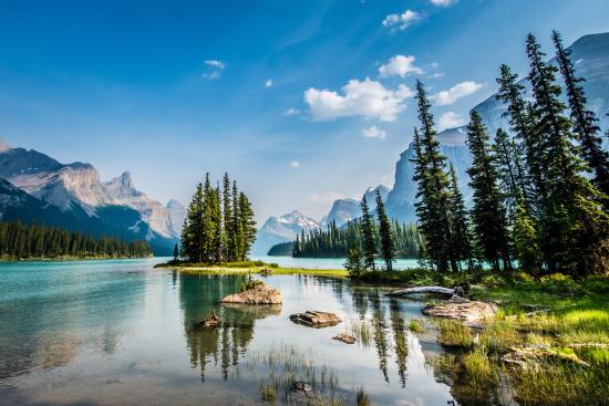 Canadian Rockies, Canada: Shared by Jeff Bartlett at Maligne Lake