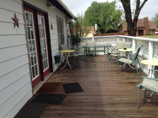 Sayre, OK: the Picket Fence Cafe