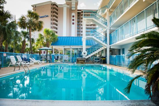 Main pool picture of affordable family resort myrtle beach tripadvisor for Cheap 2 bedroom hotels in myrtle beach sc