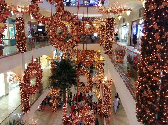 Christmas decor picture of power plant mall makati Christmas tree decorating ideas philippines