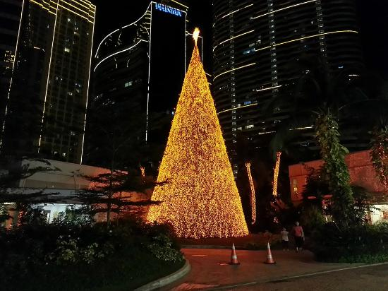 Christmas Tree Picture Of Power Plant Mall Makati