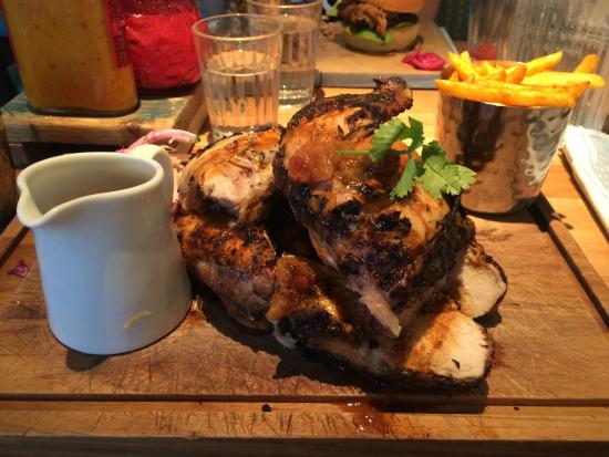 Whole Chicken - Picture of Turtle Bay, Nottingham - TripAdvisor