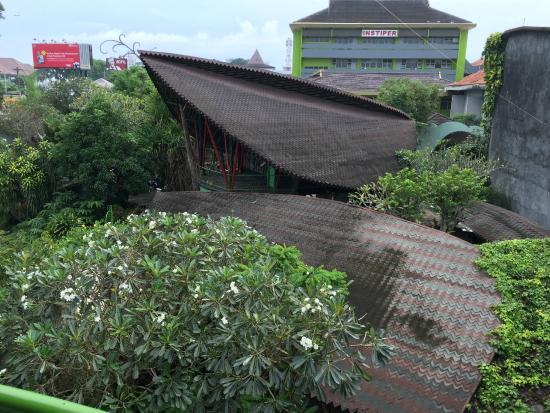 Museum Top View Affandi Museum Top View From