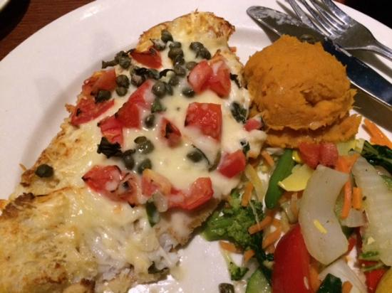 Totally delicious parmesan crusted grouper for Juno beach fish house