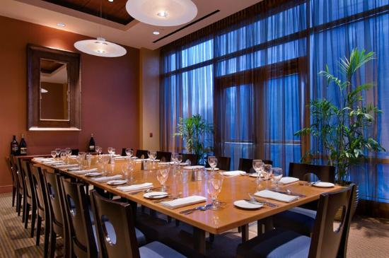 Our private dining room seats 16 picture of gray 39 s at for Best private dining rooms vancouver