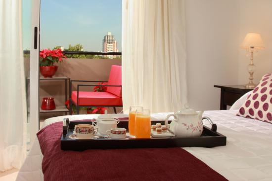 Be Hollywood! Boutique Hotel: Room service Hotel Boutique