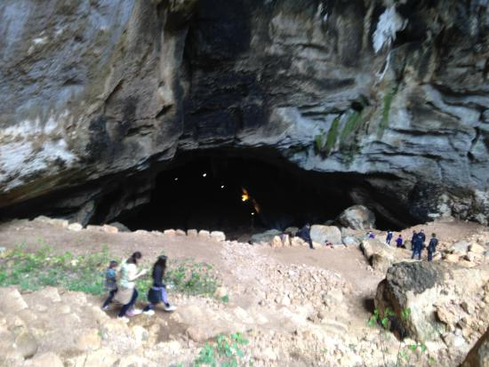 Heaven cave - Picture of Caves of Heaven and Hell ...