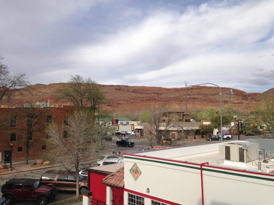 View from veranda picture of best western plus for Best western moab