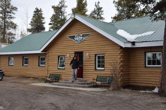 Front door picture of watson lake yukon tripadvisor for Air force decoration writing guide