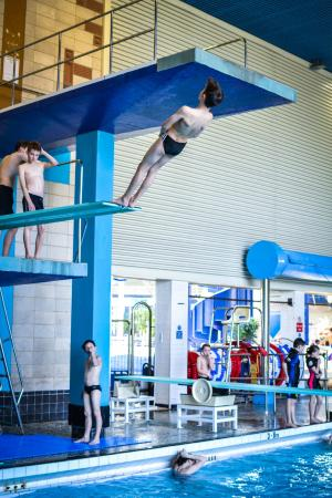 Racing On The Aqua Challenge Picture Of Maidstone Leisure Centre Maidstone Tripadvisor