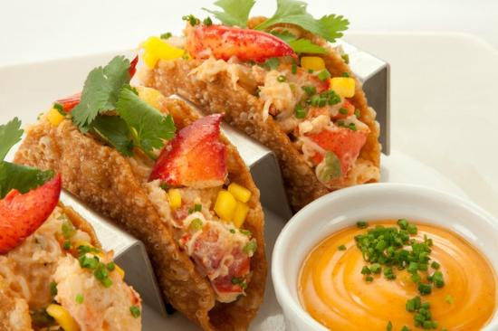 Lobster tacos picture of table 51 laval tripadvisor for Table 51 laval