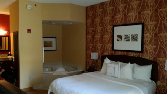 Courtyard by Marriott Springfield Airport: King/Jac room