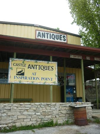 Castle Antiques at Inspiration Point Overlook