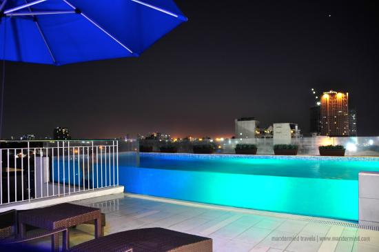 Luxent Hotel Infinity Pool Picture Of Luxent Hotel Quezon City Tripadvisor