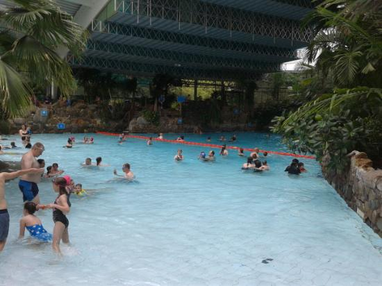The Indoor Pool Picture Of Center Parcs Longleat Forest Warminster Tripadvisor