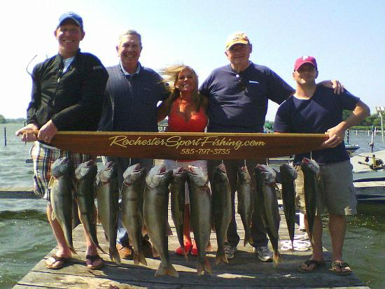Trip picture of rochester sport fishing rochester for New york fishing trips