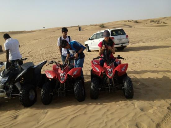 Cost Of New Bikes In Dubai Desert Safari Dubai uad bike