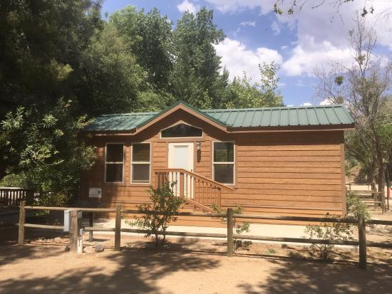 cabin picture of camp james campground kernville